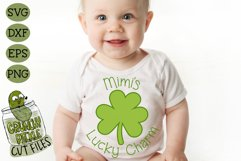 Mimi's Lucky Charm - St Patrick's Day SVG File Product Image 1