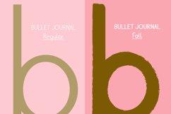 Cute Sans Serif Bullet Journal Font | Modern Scrapbooking Product Image 2