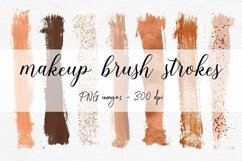 Copper Brush Strokes Clipart Product Image 1