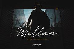 Millan | Oblique Signature Font | Product Image 1