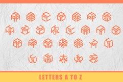 3D Isometric Logo Font Product Image 2