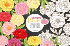 Pretty Peonies in Pink & Yellow Product Image 1
