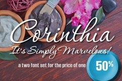 Corinthia 2 Font Set Product Image 1