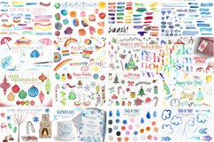 2,600 in 1 Watercolor Clip Art Bundle Product Image 2