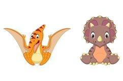 Cartoon Baby Dinosaurs Bundle Product Image 4