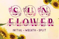 Sunflower Monogram Product Image 1