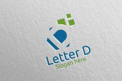 Letter D Digital Marketing Financial Logo 67 Product Image 3