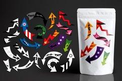 Superhero Arrows Illustrations Bundle Product Image 2