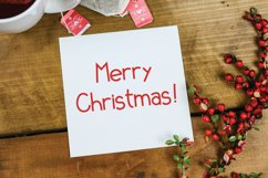 Xmas List Bold - A festive Christmas sans serif font ! Product Image 5