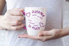 Valentines day svg, long distance relationship svg Product Image 3