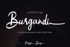 Burgandi Font Product Image 1
