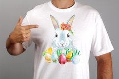 Watercolor white rabbit Product Image 3