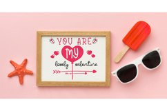 cutfiles SVG, You Are My Lovely Valentine Product Image 2