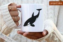 Orca SVG | Killer Whale Clipart Bundle | Ocean Animals Product Image 2