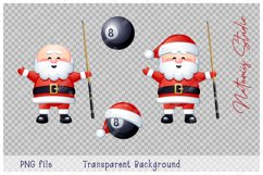 Merry Christmas and Happy New Year. Billiard. Product Image 4
