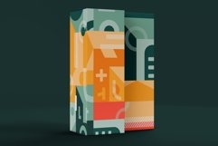 Square geometry pattern collection Product Image 6