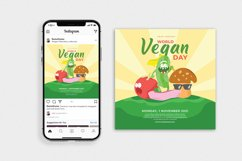 World Vegan Day vol.01 - Flyer, Poster & Instagram TY Product Image 3