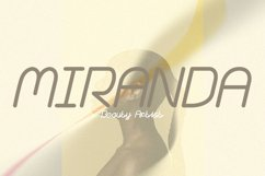 Island Nation - cool, minimalistic and modern display font Product Image 5