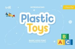 Plastic Toys Basic Serif Kids Product Image 1