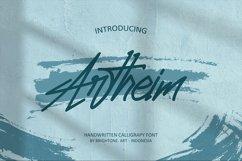 Artheim Handwritten Font Product Image 1