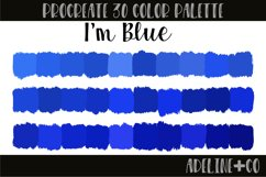 I'm Blue Procreate color palette Product Image 1