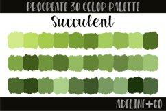 Succulent Procreate Color Palette Product Image 1