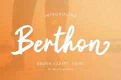 Berthon - Brush Script Font Product Image 1