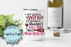 A Day Without Wine SVG Product Image 2