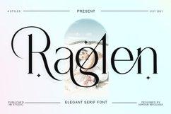 Raglen Serif Product Image 1