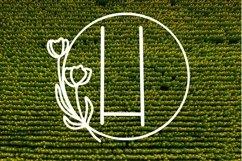 Web Font A Framed Farmhouse Monogram Product Image 4