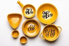 Web Font A Swirly & Sweet Monogram Font Product Image 2
