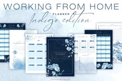 Working from home planner Indigo Edition Product Image 1