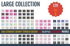 30oz STRAIGHT Skinny Tumbler Sublimation, Templates. Product Image 1