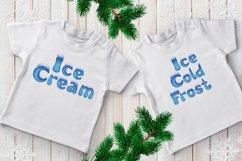 Holiday Season - ice font Product Image 3