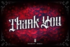 Salliery | Gothic font Product Image 2