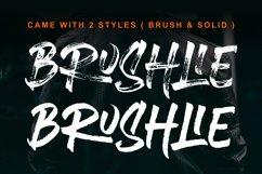 Brushlie - urban typeface - Product Image 2