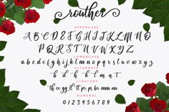 routher - beautiful script font Product Image 2