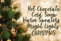Merry Everything - A Handlettered Font Pair Product Image 5
