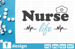 1 NURSE QUOTE SVG BUNDLE, nurse svg, nurse clipart, doctor Product Image 1