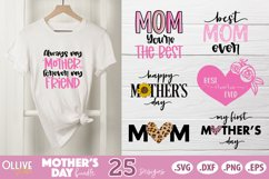 Mothers Day SVG Bundle, Mom Mother's Day SVG Product Image 4