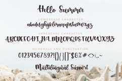 Hello Summer Font Product Image 3