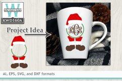 Christmas SVG - Christmas Monogram Product Image 1