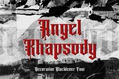 Angel Rhapsody - Blackletter Decorative Font Product Image 1