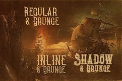 Pirate- Vintage Style Font Product Image 2