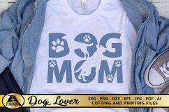 Dog Mom SVG Paw Prints SVG Dog Lover SVG Mothers Day SVG Product Image 4