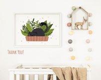 Black cat kids clipart Product Image 5