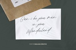 Aklay - Handwritten Font Product Image 2