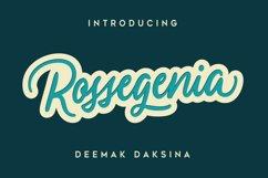 Ressogenia - Cursive Script Font Product Image 1