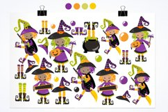 Little Witches graphics and illustrations Product Image 2