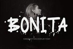 Bonita Handwritten Display Font Product Image 1